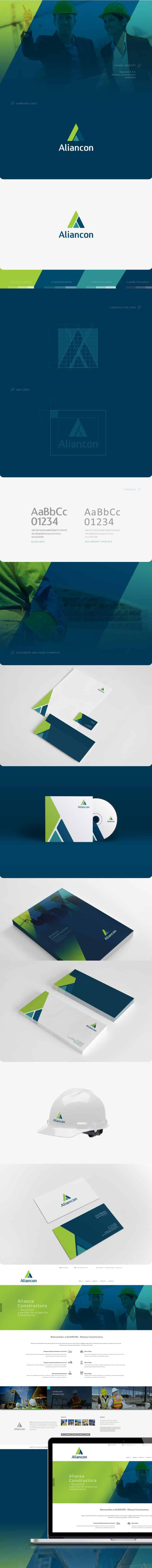 Alian Con Construction Logo