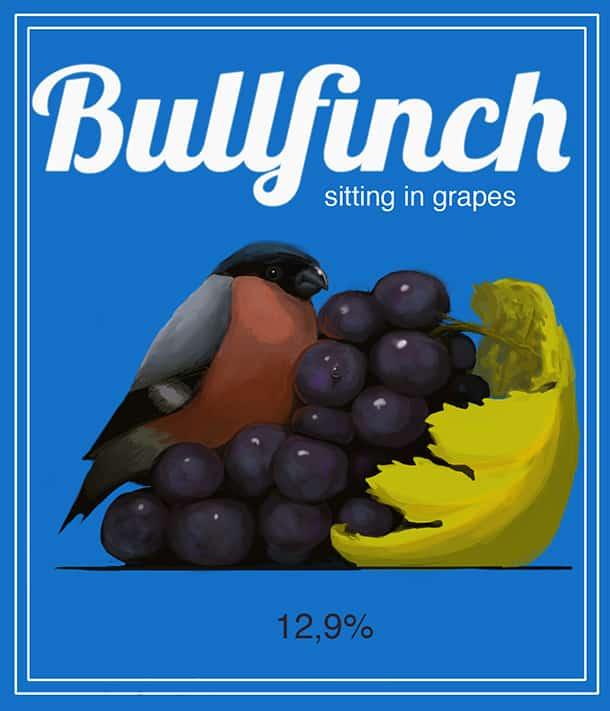 Bullfinch Design using Lobster Font