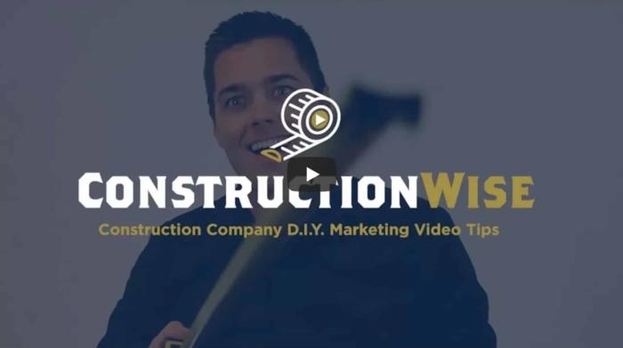 Construction General Contractor - Content Marketing