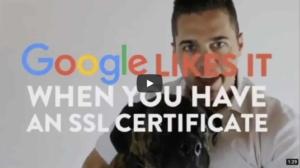 Google Likes It - SSL Certificate for SEO