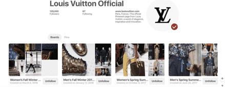 Louis Vuitton Pinterest