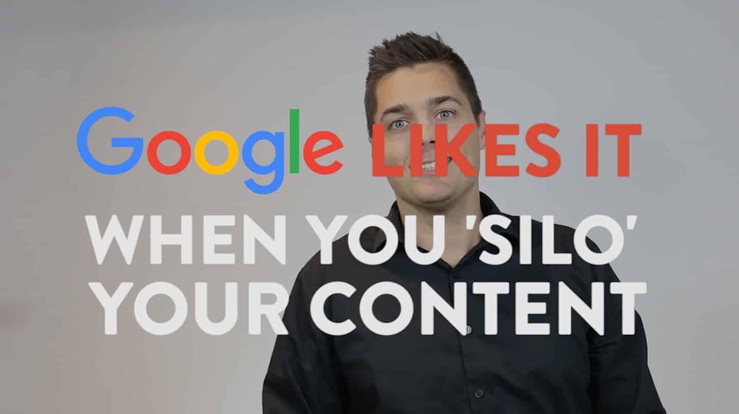 Google Likes It When You 'Silo' Content