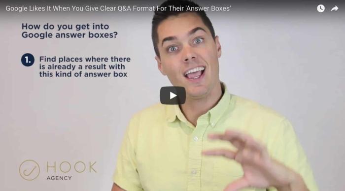Google Answer Boxes