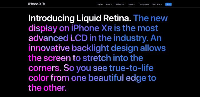 color gradients in web design