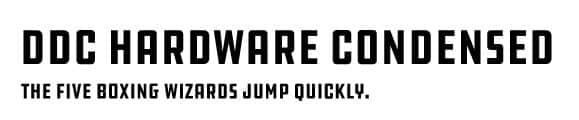 ddc-hardware-condensed