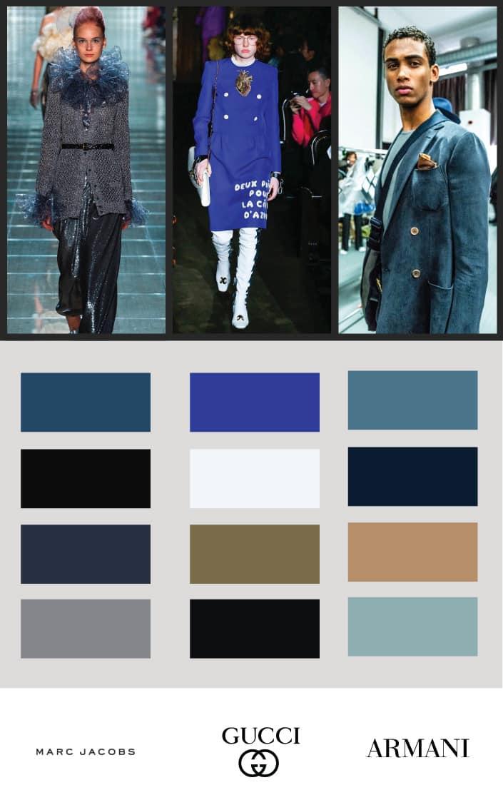 Blue Color Palettes 2019