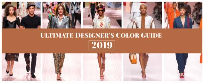 Ultimate Designers Color Guide 2019
