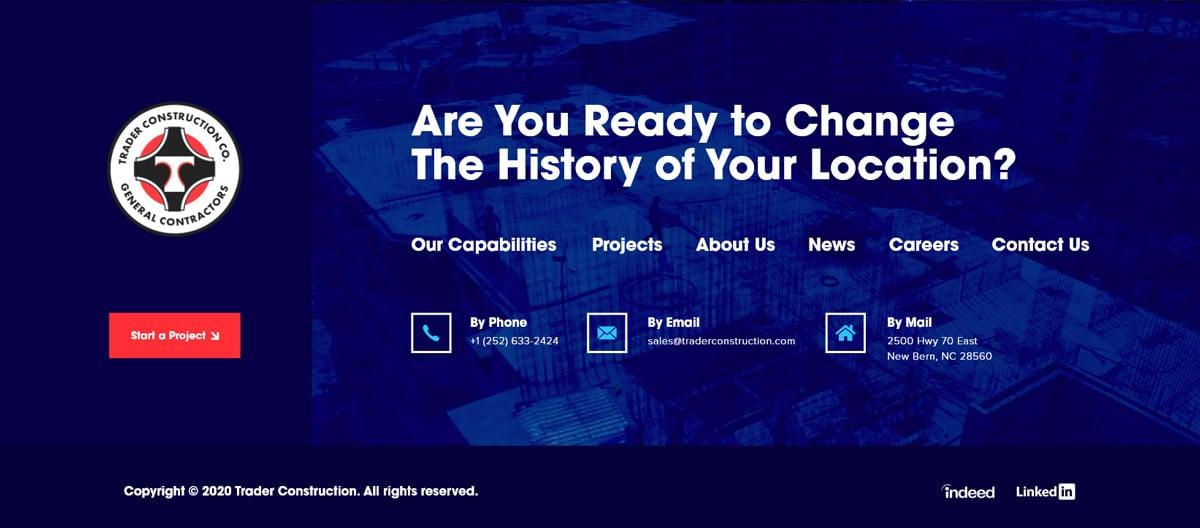 Amazing Footer Website Design Examples