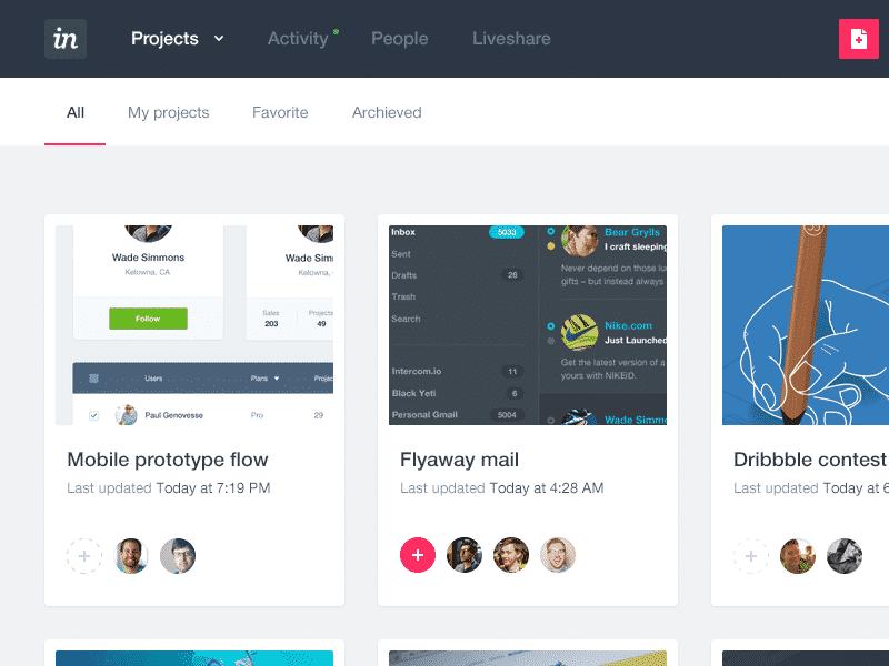 Invision - Prototyping Digital Marketing 2019 Tools Adobe XD