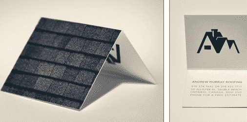 Roofing Business Card Inspiration