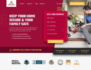 Roofing Website Design Inspiration 2020