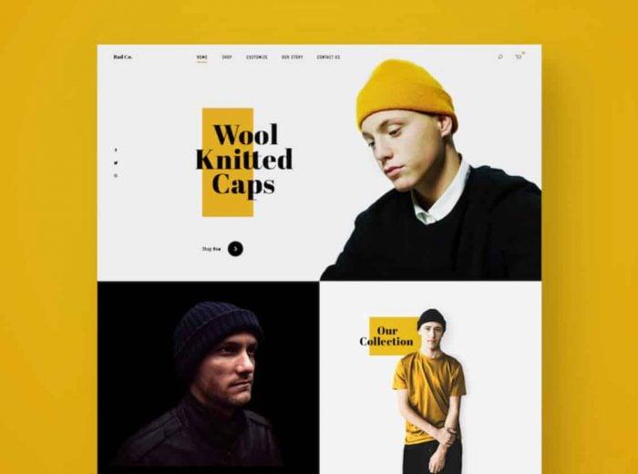 yellow and black - digital marketing web design