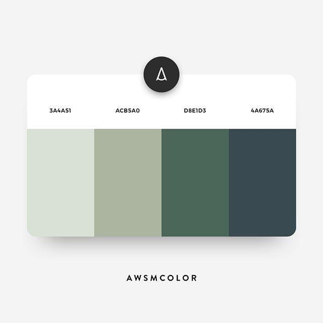 1-green-grey-color