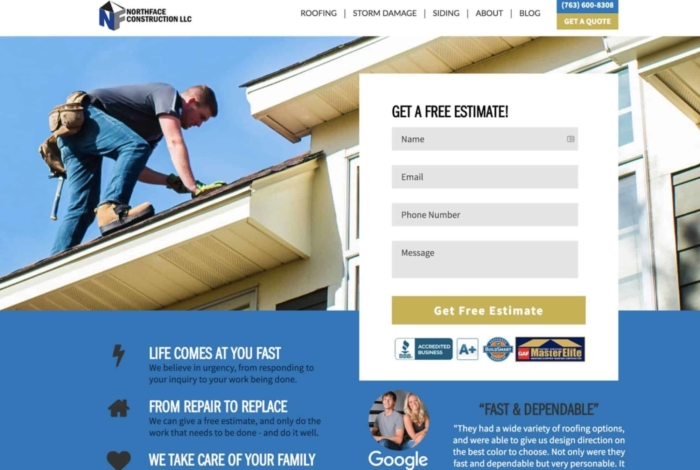Roofing Company SEO Case Study