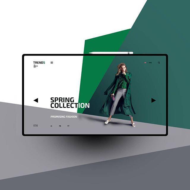 green-device-design-white-space-fashion-web