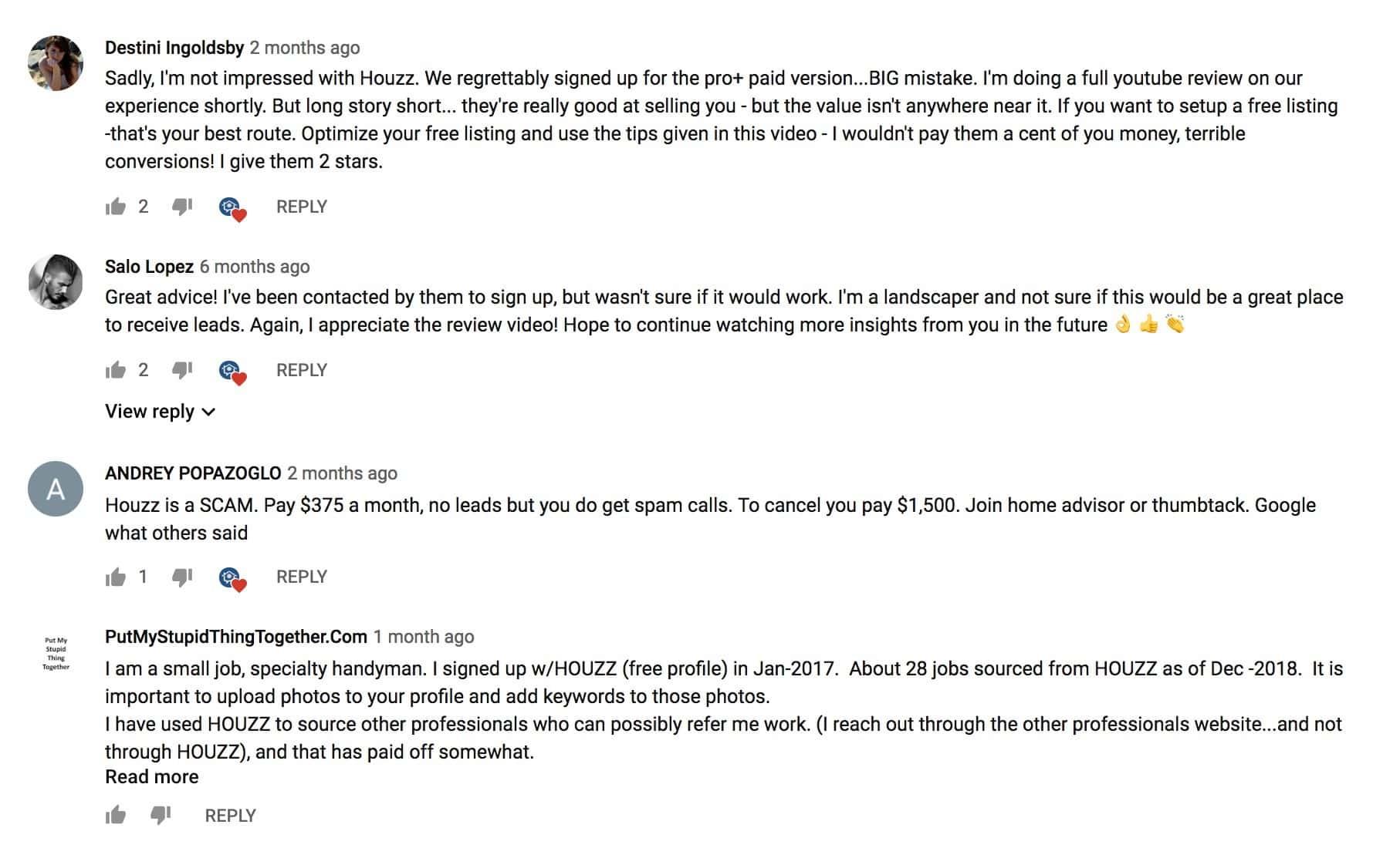 Houzz Reviews - Contractors