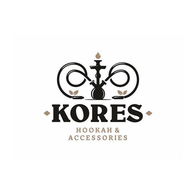 kores-hookah-modern-logo-design-inspiration