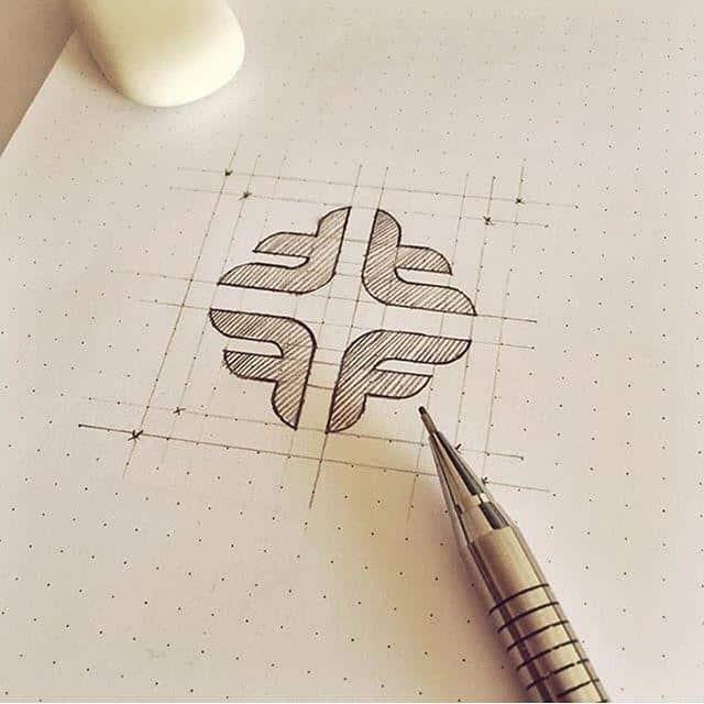 logo-design-process-sketch
