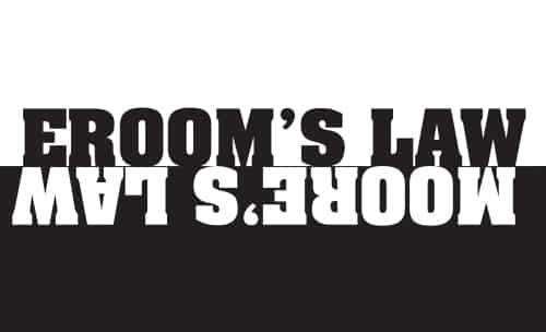Erooms Law, Moores Law
