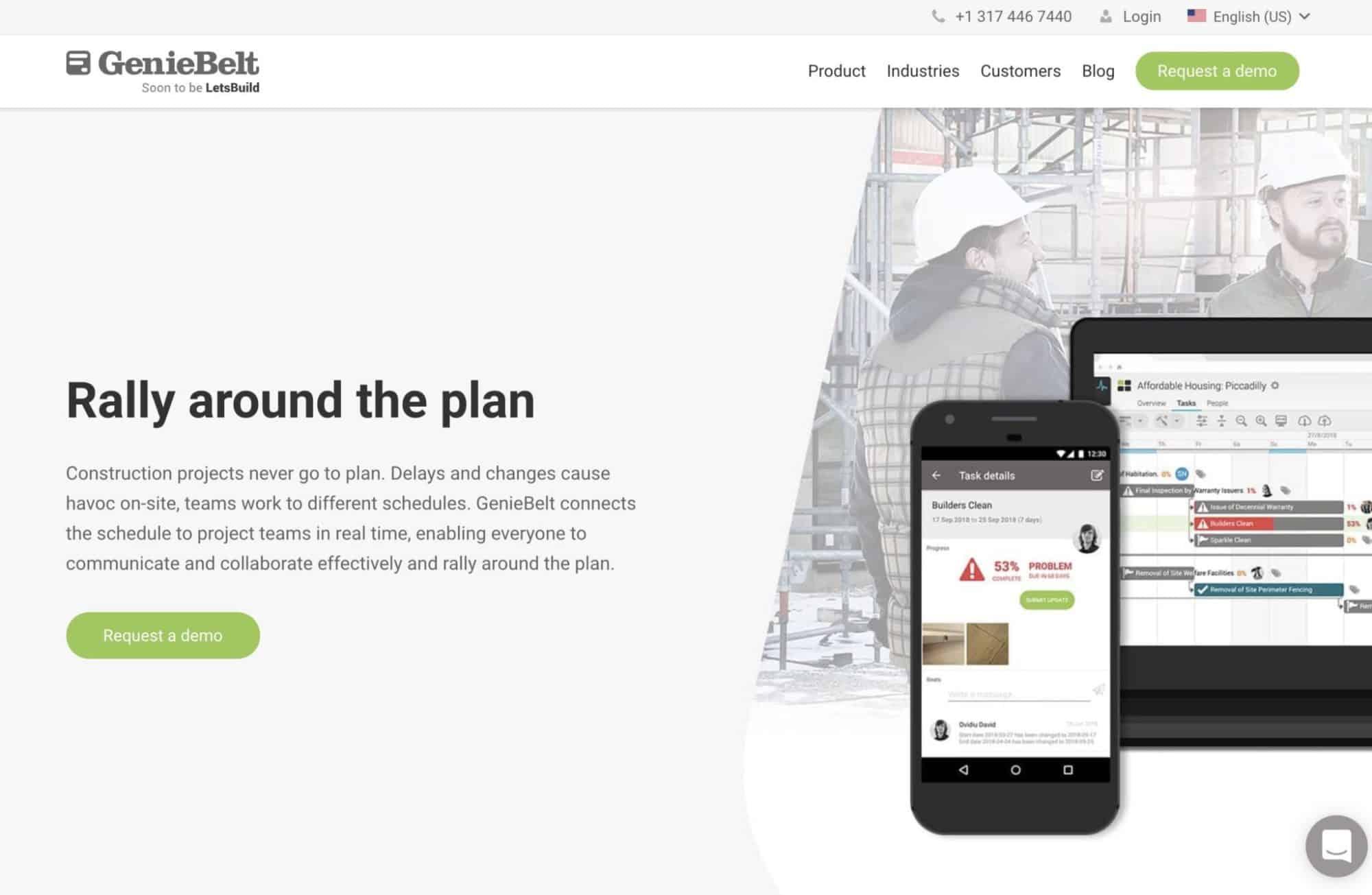 Geniebelt - Modern Web Design