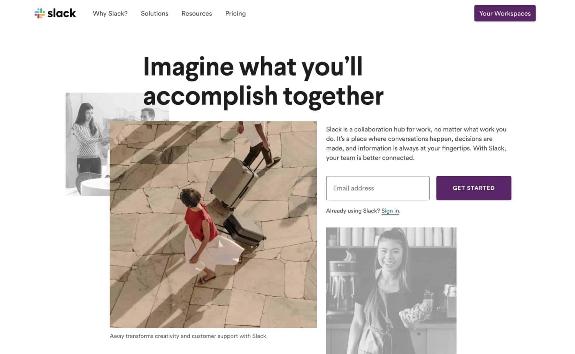 Slack - Modern Website Design