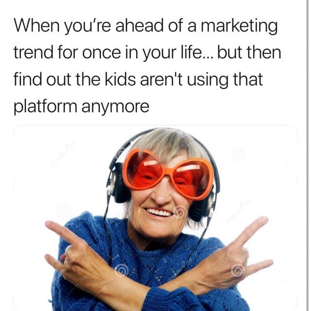 Marketing Trend memes