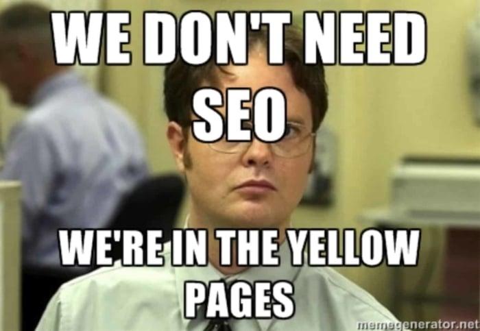 Blogging actually works - seo meme