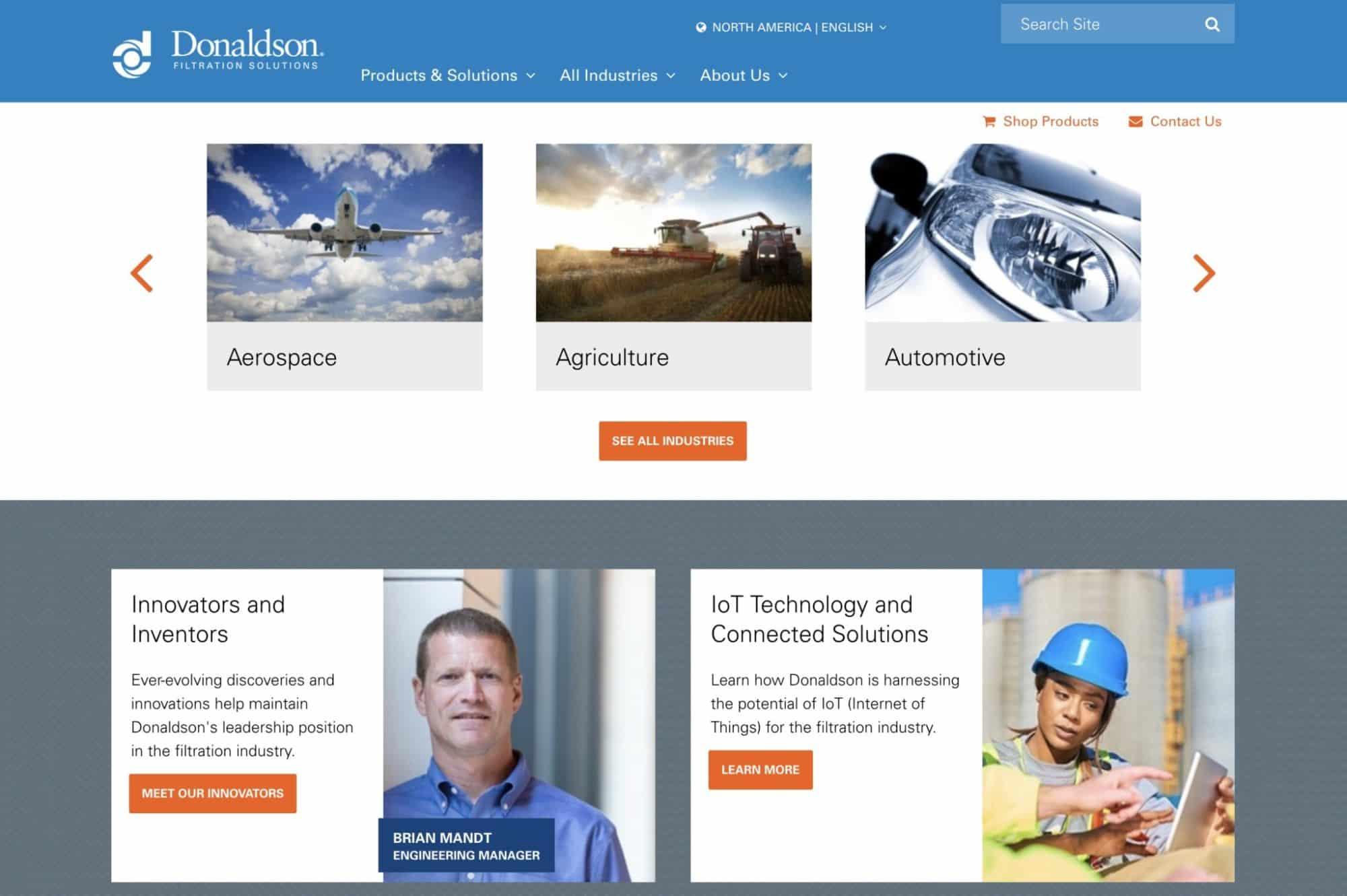 Engineering-industrial-website-design-tips
