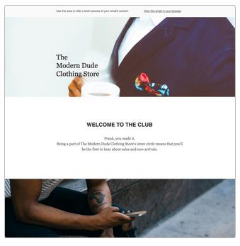 Mailchimp business templates