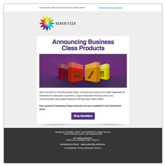 Colorful mailchimp templates