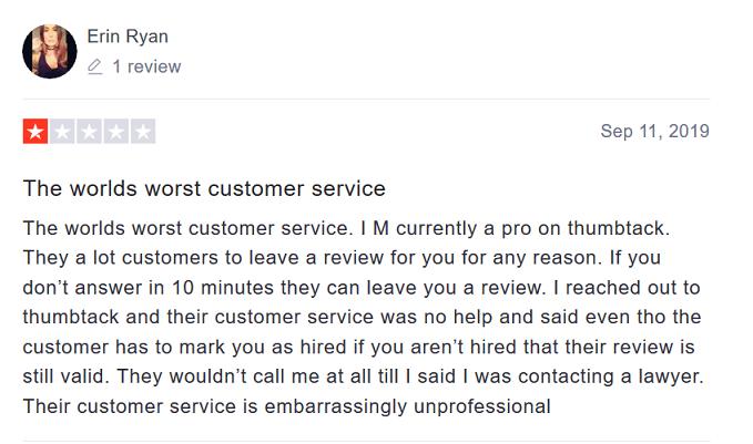 Thumbtack Pro - Review