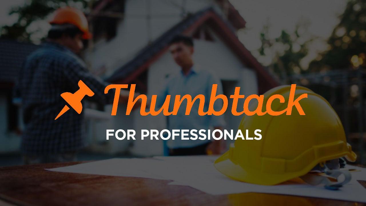 Thumbtack Pro: Thumbtack for professionals review