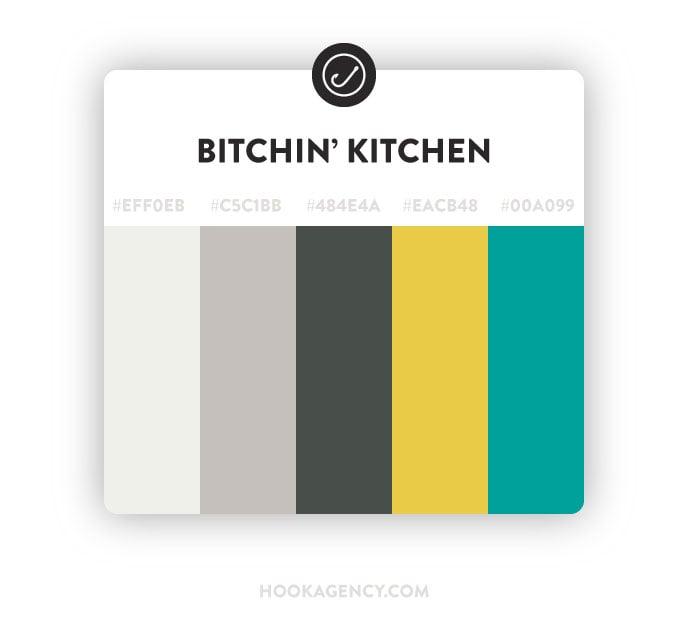 Bitchin Kitchen Color Palette 2020