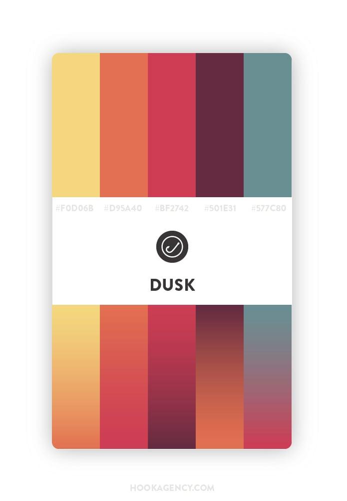 Vintage Dusk Color Palette 2020