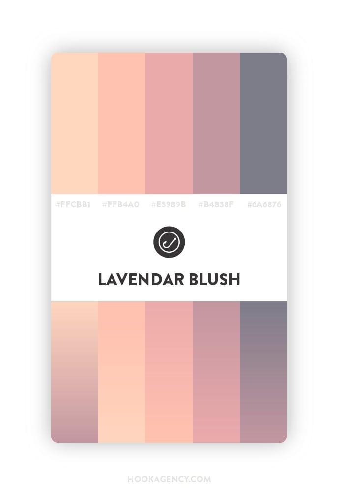 Muted Lavendar Color Palette 2020