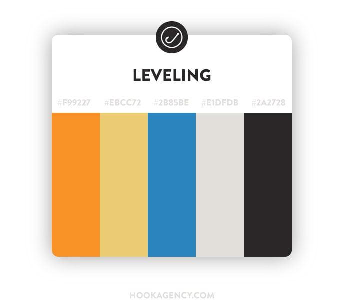 Leveling, Comfortable Color Pallette Scheme