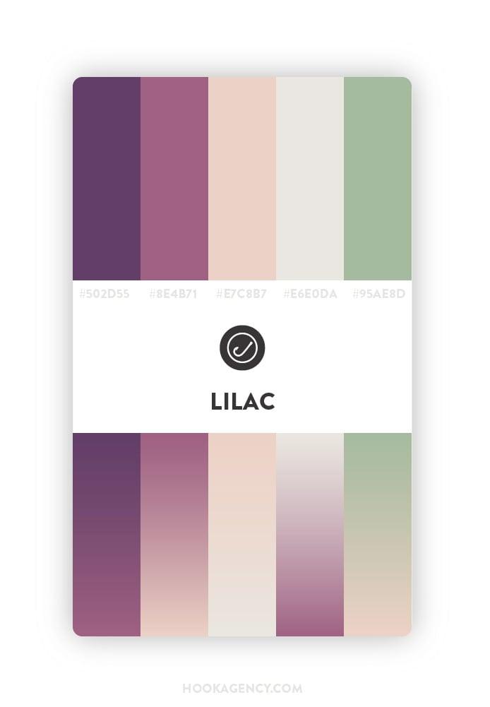 Lilac Color Palette 2020