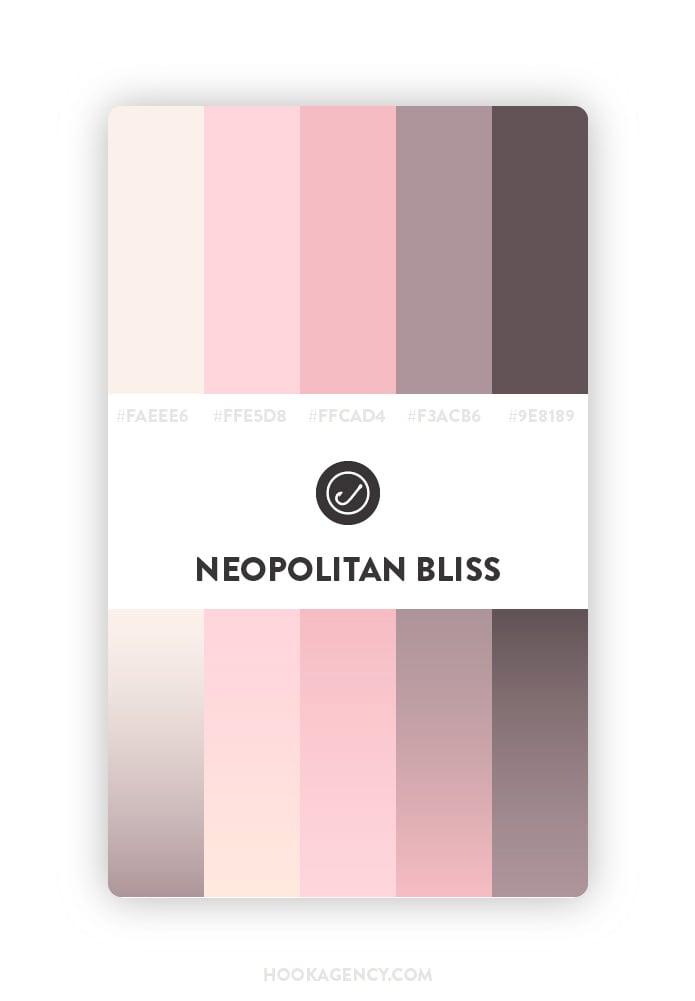 Soft Subtle Color Palette 2020