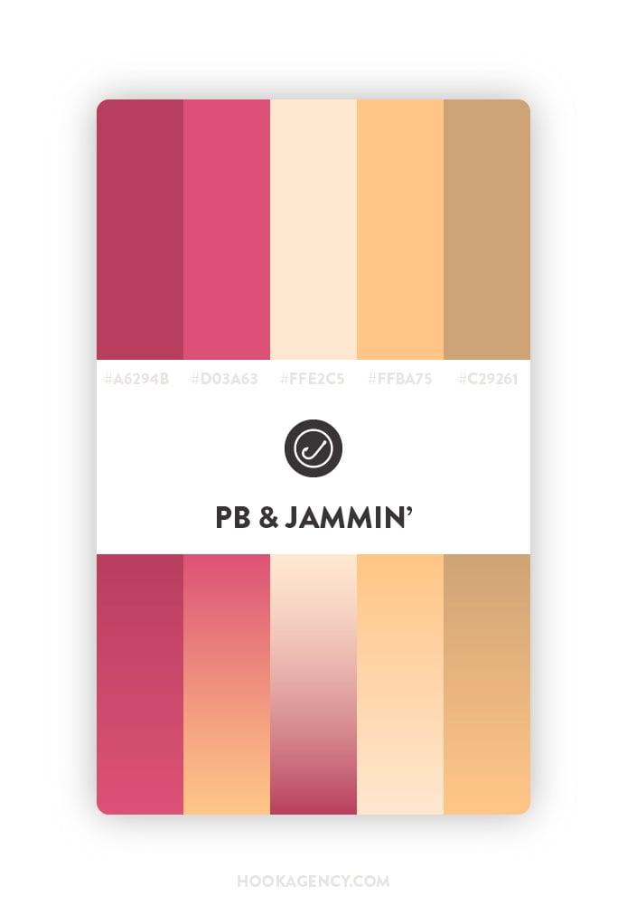PB aand J Color Palette 2020