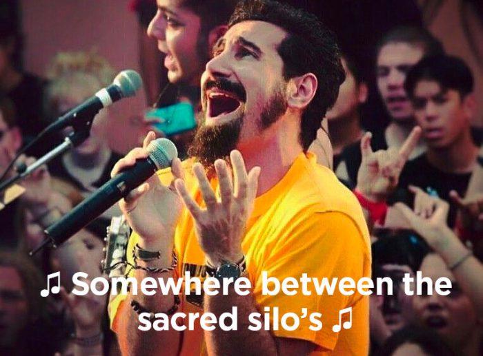 Somewhere between the sacred silos, sacred silos and sleep - Interaction designer, web design meme, web development