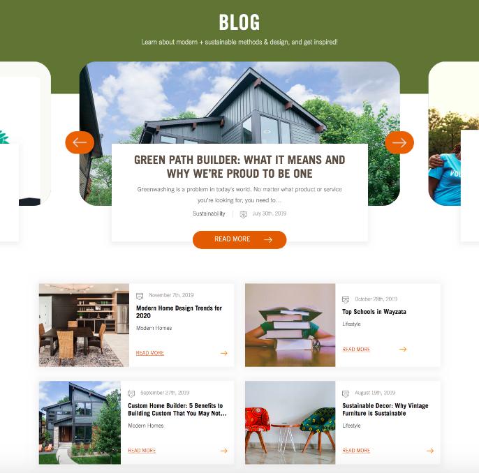 sustainable blog