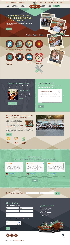 Plumbing Website Design Inspiration 2020