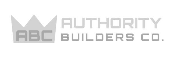 Authority Builders Logo Greyscale