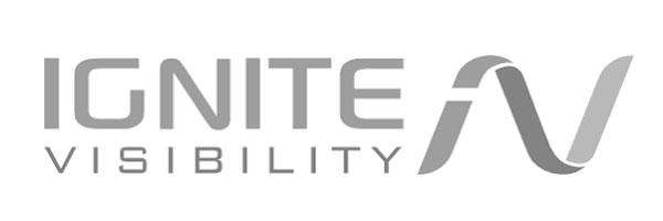 Ignite Visibility Greyscale Logo
