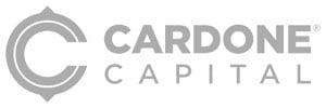 Cardone Capital Logo Greyscale