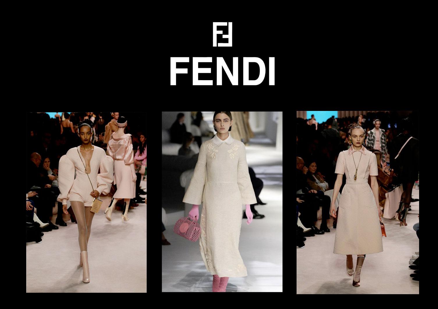 Fendi Color Schemes - High FAshion color trends 2021