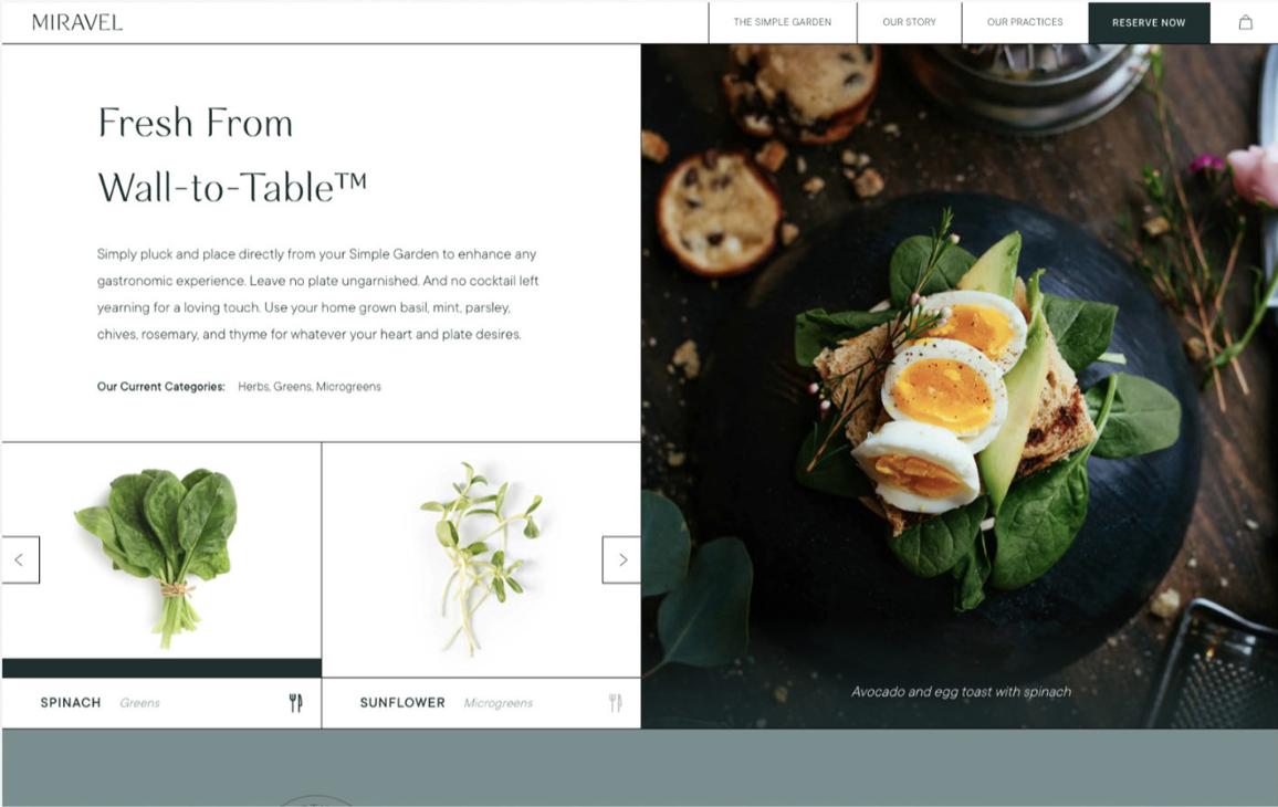 Greenery, White Simple Inspiration Web Design 2021
