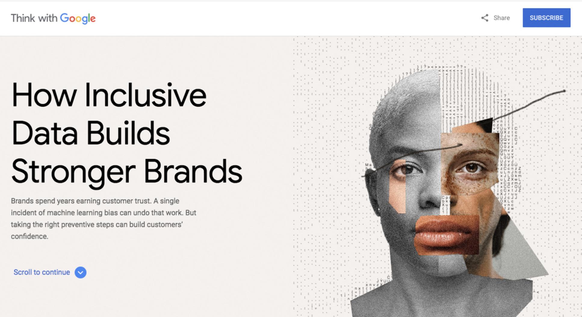 Inclusivity, Design, Diversity, Website inspiration 2021 - Google