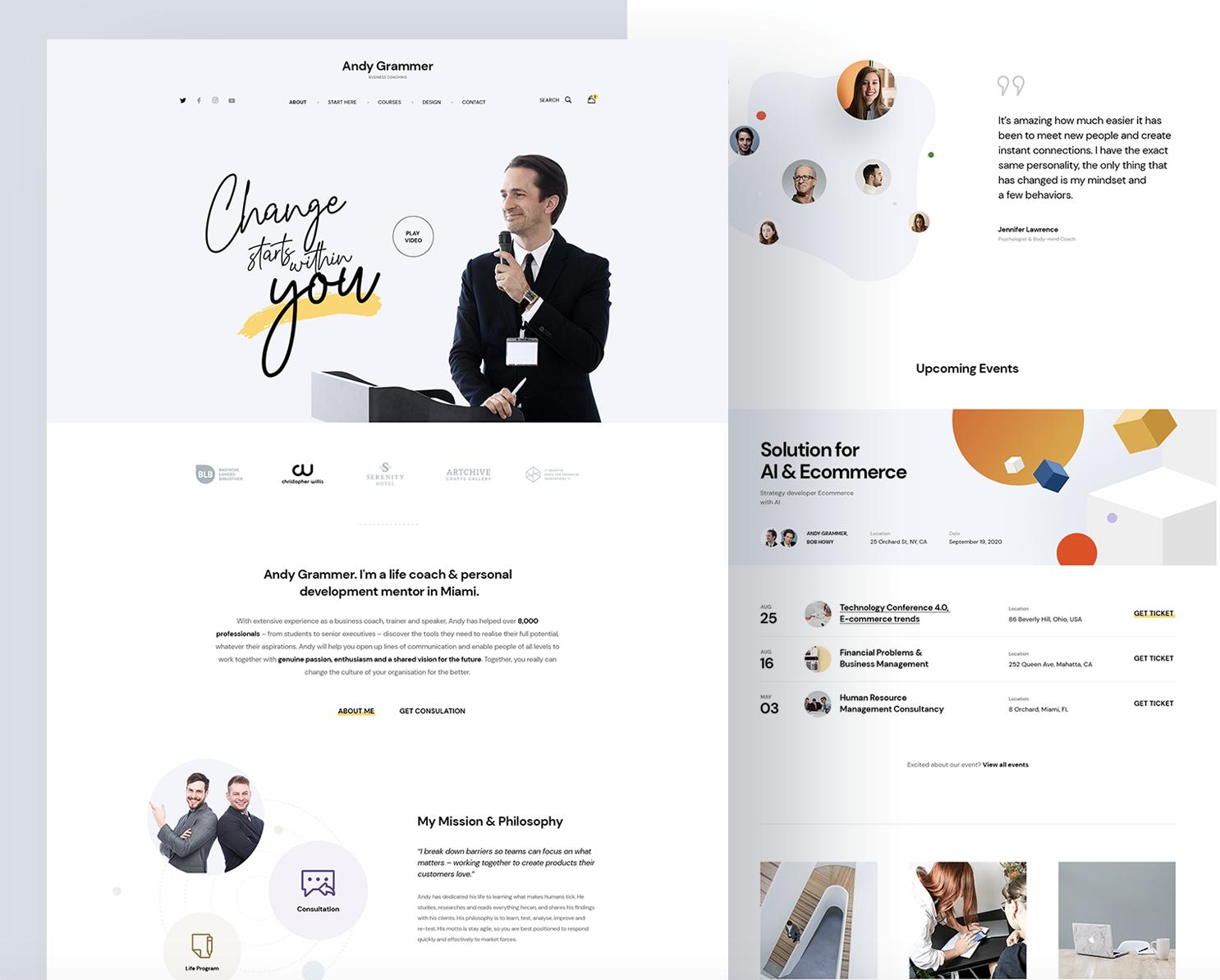 Website Design Inspiration 2021