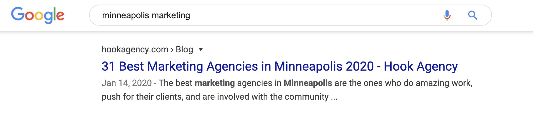 Minneapolis Marketing Agencies